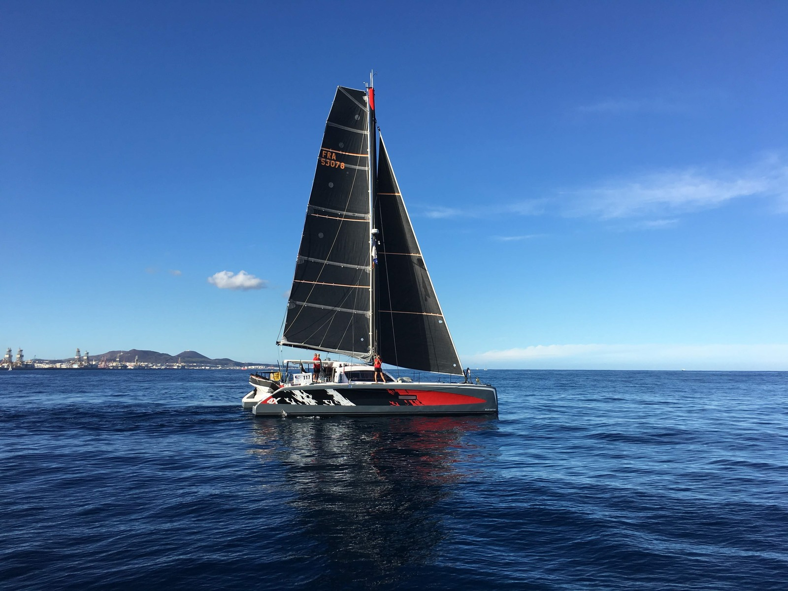 Catamarans for sale Outremer 4X 2018 owner version first